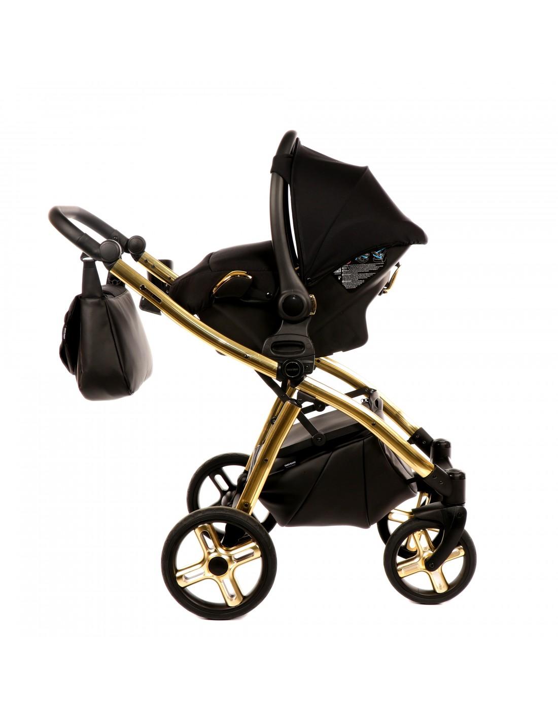 Stroller Tako Laret Classic 3in1 Black Gold